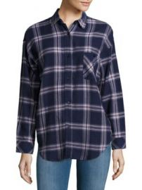 Rails - Jackson Windowpane Check Shirt at Saks Off 5th