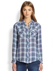Rails - Kendra Plaid Button-Down Shirt at Saks Fifth Avenue