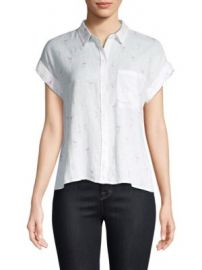 Rails - Whitney Flamingos Shirt at Saks Fifth Avenue