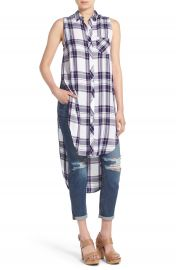 Rails  Jordyn  Sleeveless Plaid Tunic at Nordstrom