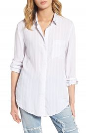 Rails Aly Stripe Woven Shirt at Nordstrom