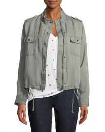 Rails Collins Zip-Front Utility Jacket at Neiman Marcus