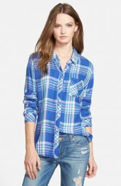 Rails Hunter Plaid Shirt in Blue Violet at Nordstrom