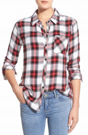 Rails Hunter Plaid Shirt in Red at Nordstrom
