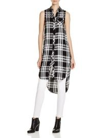 Rails Jordyn Plaid Sleeveless Shirt at Bloomingdales