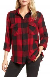Rails Larsson Embroidered Flannel Shirt at Nordstrom