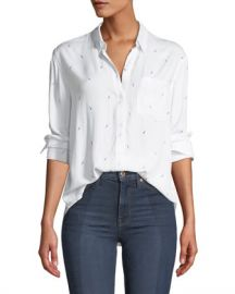 Rails Lightning-Bolts Long-Sleeve Button-Down Shirt at Neiman Marcus