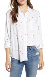Rails Rocsi Heart Print Shirt at Nordstrom