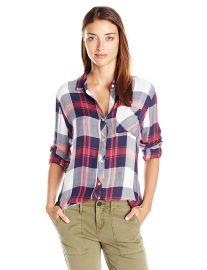 Rails Women s Hunter 1 Pocket Plaid Shirt at Amazon