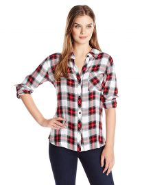 Rails Women s Hunter Button Down Plaid Shirt at Amazon