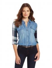 Rails plaid sleeve shirt at Amazon