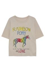 Rainbow Pony Tee at H&M