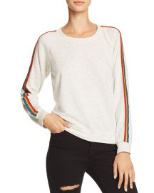 Rainbow-Stripe Sweatshirt at Bloomingdales