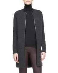 Ralph Lauren Black Label Nancy Long Cashmere Cardigan at Neiman Marcus