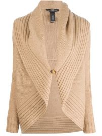 Ralph Lauren Black Shawl Collar Cardigan - Banner at Farfetch