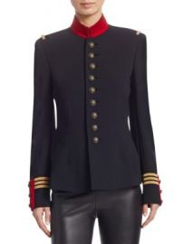 Ralph Lauren Collection - Iconic The Officer s Double-Faced Wool Jacket at Saks Fifth Avenue