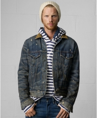 Ralph Lauren Denim and Supply Carson Trucker Jacket at Macys