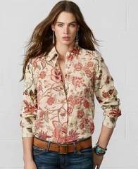 Ralph Lauren Denim and Supply Floral Shirt at Macys
