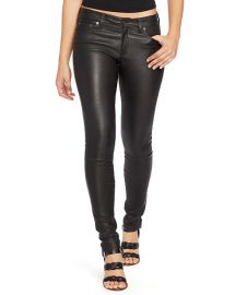Ralph Lauren Stretch Leather Skinny Pant at Ralph Lauren