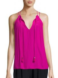 Ramy Brook - Marissa Tie Neck Tank Top at Saks Fifth Avenue