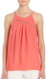 Ramy Brook Zia Sleeveless Top at Saks Fifth Avenue