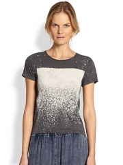Raquel Allegra - Printed Jersey Tee at Saks Fifth Avenue