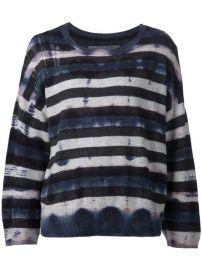 Raquel Allegra Distressed Striped Sweater - Traffic Women at Farfetch