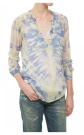 Raquel Allegra Henley Blouse at Diani Boutique