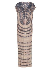 Raquel Allegra Jersey tie-dye slouchy maxi dress at Matches