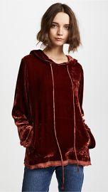 Raquel Allegra Long Sleeve Hoodie at Shopbop
