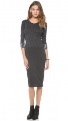 Raquel Allegra Long Sleeve Layering Dress at Shopbop