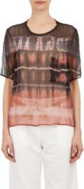 Raquel Allegra Tie-Dye Chiffon T-shirt at Barneys