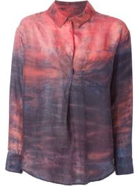 Raquel Allegra Tie-dye Shirt - at Farfetch