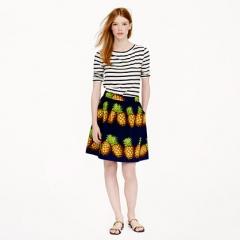 Ratti Pineapple Skirt at J. Crew