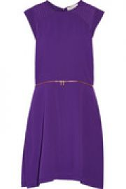 Ravissante chiffon mini dress at The Outnet