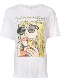 Re Done Comic Strip Print T-shirt - Farfetch at Farfetch