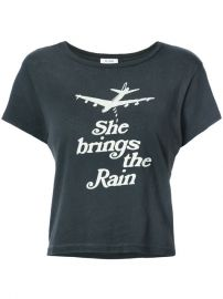 Re Done She Brings The Rain Printed T-shirt  137 - Buy AW17 Online - Fast Global Delivery  Price at Farfetch