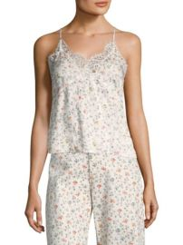 Rebecca Taylor Floral Vine Lace Cami at Saks Fifth Avenue