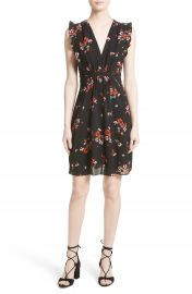 Rebecca Taylor Marguerite Floral Stretch Silk Dress at Nordstrom