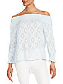Rebecca Minkoff - Atmosphere Off-Shoulder Top at Saks Off 5th