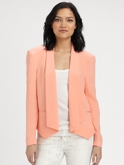 Rebecca Minkoff - Becky Silk Jacket at Saks Fifth Avenue