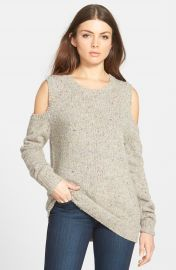 Rebecca Minkoff   Page  Cold Shoulder Sweater at Nordstrom