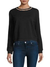 Rebecca Minkoff - Pearl Cotton Sweatshirt at Saks Fifth Avenue