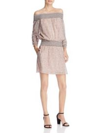 Rebecca Minkoff Cara Off-The-Shoulder Mini Dress at Bloomingdales