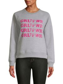 Rebecca Minkoff Grl Pwr Sweatshirt at Saks Fifth Avenue