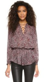 Rebecca Minkoff North Printed Top at Shopbop