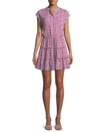 Rebecca Minkoff Ollie Drawstring Ruffle Dress   Neiman Marcus at Neiman Marcus