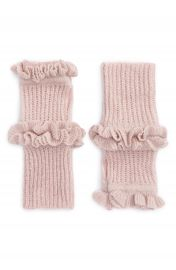 Rebecca Minkoff Ruffle Fingerless Gloves at Nordstrom