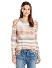 Rebecca Minkoff Women s Page Sweater-Chalk Stripe at Amazon