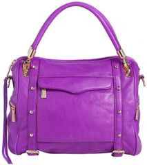Rebecca Minkoff and39Cupidand39 Satchel in purple at Nordstrom